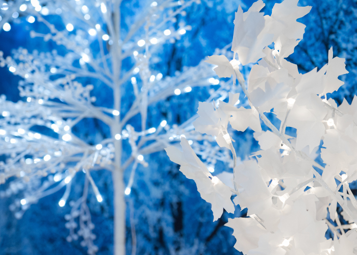 FIBRE OPTIC & LED BLOSSOM TREES